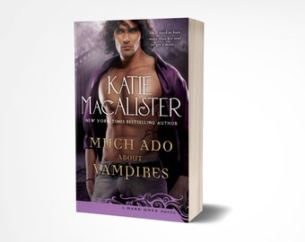 Personalized Paperback Copy of Much Ado About Vampires