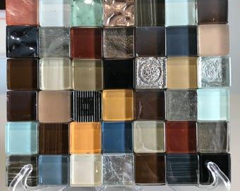 """Glass Tile Trivet """"Anise"""""""