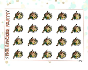 Ramen Planner Stickers