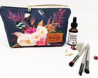 BEAUTY bag, Makeup bag, Essential Oil Bag, Cosmetic bag