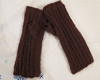 Wrist Warmers Hand Knitted Gloves