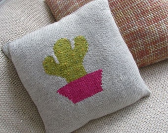 Cactus Cushion Cover Pattern