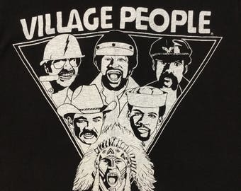 Super cool  70s Village People tee