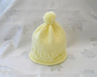 Beanie Baby Chick Yellow wool birth to 3 months
