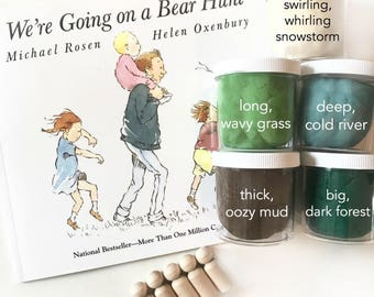 We're Going on a Bear Hunt Scented Playdough Kit