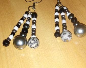 Beautiful Handcrafted Neutrality Earrings