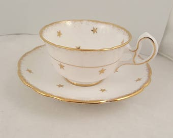 Royal Stafford OES teacup and saucer