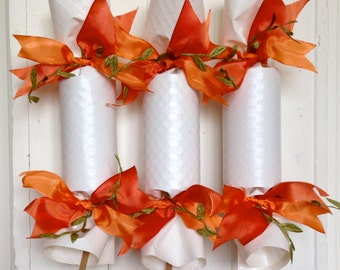 Coral and Peach Wedding Party Cracker