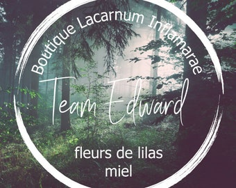 Scented candle - Team Edward