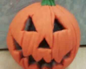 Sculpey Jack-o-Lantern Pumpkin
