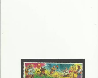 1993  Characters from Children's Books  stamps of russian