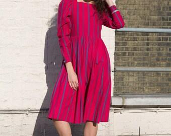 Vintage 80s Laura Ashley Dress