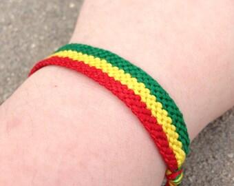 The Ethiopian Flag Friendship Bracelet