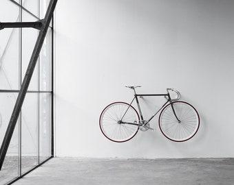 wooden bike hook // OAK WOOD