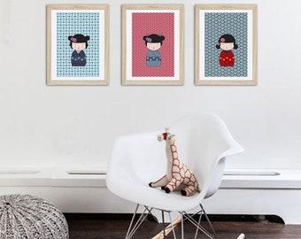 boutique d 39 affiches tendances par alexiableu sur etsy. Black Bedroom Furniture Sets. Home Design Ideas