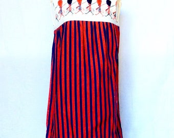 Vintage 1960s Vintage English Bobby Dress