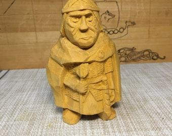 The wooden figure of slavic prince Ragvalod