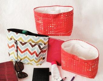 Purse Insert Organizer,  Multi Pockets Bag Insert, Medium Bag Organizer, Purse Organizer