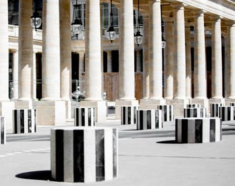 Photography Prints // Paris Photography // Palais Royal // Large Wall Art // Gallery Wall Prints // Paris Wall Art // Paris Decor