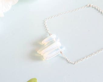 """Bracelet """"CASTA"""" sterlinge silver and Opal"""