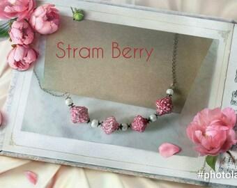 Romantic Mediolunga Elegant necklace in paper