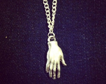 Palmistry Hand Necklace