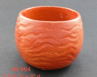 Wood Fired carved T-Bowl
