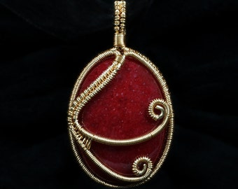 Firedance Pendant Wire Jewelry Tutorial