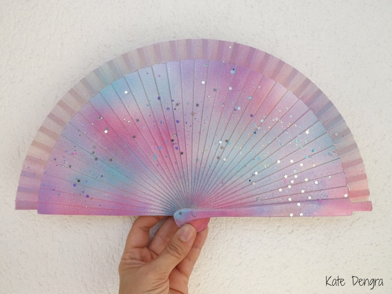 FANtasy Rainbow Unicorn Edition Hand Fan