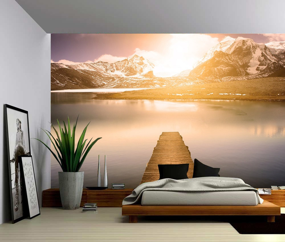 Popular Wallpaper Mountain Bedroom - il_fullxfull  Pictures_464516.jpg?version\u003d0