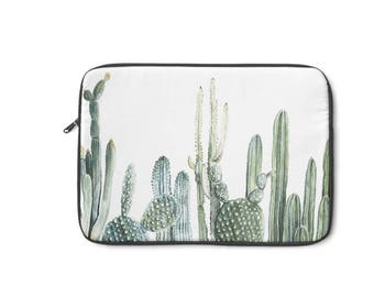 Cactus Laptop Sleeve, MacBook Case, Laptop Case, Carry Case, Laptop Bag