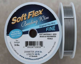 Soft Flex Original Fine Wire, 30 Foot Spool