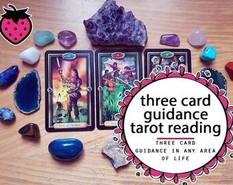 3 Card Guidance Tarot Reading