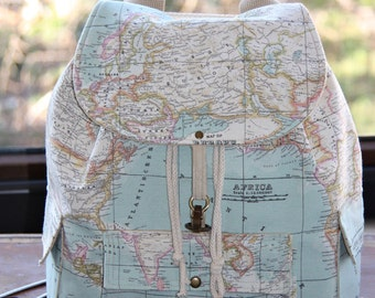 World map backpack etsy world map prints backpackatlas large backpacktravelschooldaily backpack gumiabroncs Image collections