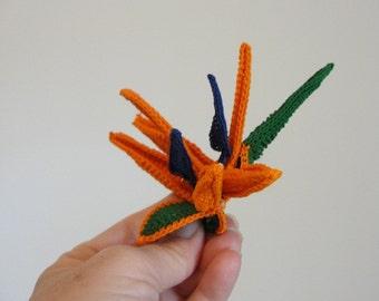 Crochet Flower Pattern - Bird of Paradise - Instant Download