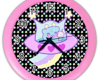 Trixie and Alpacone Wall Clock