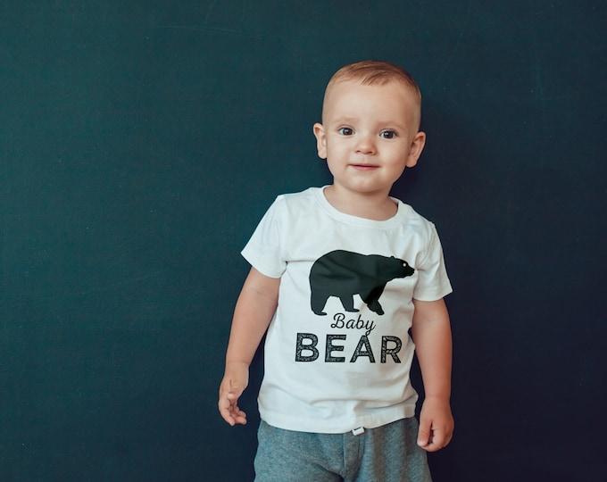 Digital files only • Birthday T-shirt, little bear, lumberjack, birthday shirt, first birthday shirt, family shirts, lumberjack bash, 1st