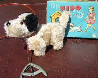 """Fido, the Mechanical walking Dog made by """"Alps"""""""
