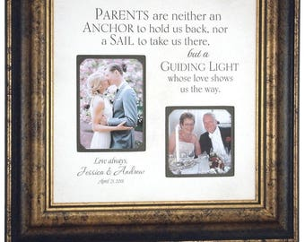 Parents Wedding Gift for Mom, Mother of the Groom Gift, Mother of the Bride Gift, Father of the Bride Gift, Parents Wedding Gift, 16x16