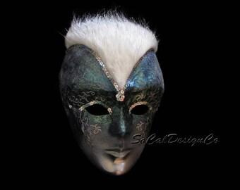 Custom Cosplay Mask, Cosplay Mask, Costume Mask, Commissioned Mask, Halloween Mask, Custom Mask, Fantasy Mask, Alien Mask, Masquerade Mask