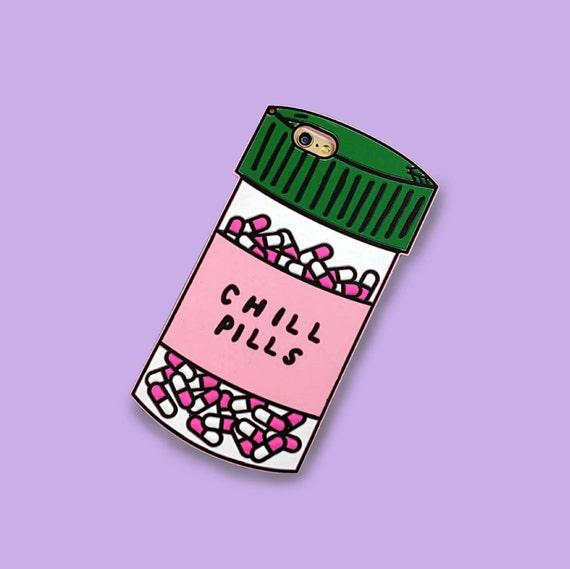 Chill Pills Iphone Case