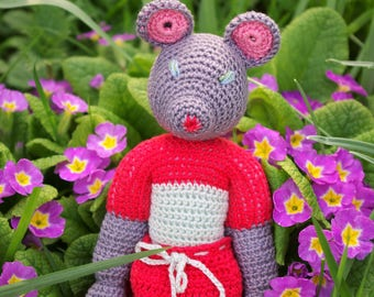 Reserved for Victoria - Marissa - mouse crochet handmade