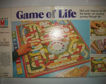 Game Of Life 1978 Edition By MB Games ,Complete