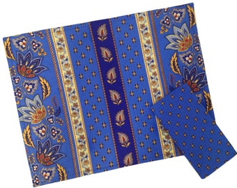 Blue and Yellow Placemats, French Provence Placemats