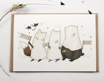 70% OFF - Peek-A-Boo - Greeting Card