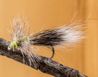 MacIntosh Dry fly || hand tied || set of two