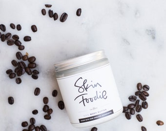 coffee | organic |  body butter | call me skinny | reduce the appearance of cellulite | improve circulation | vanilla |  hazelnut