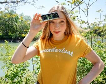 Wanderlust T-shirt - Travel Shirt - Apparel