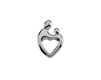 Mother and Child Floating Charms