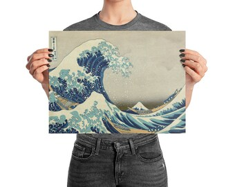 Great Wave of Kanagawa, Hokusai - Poster